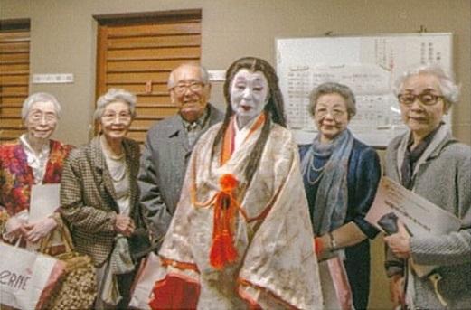 花柳菊多寿美(村田)さんの日本舞踊鑑賞